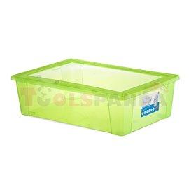 Универсална кутия Stefanplast Visual Box XXL, 30L, зелена