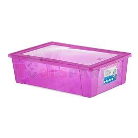 Универсална кутия Stefanplast Visual Box XXL, 30L, розова