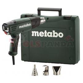 Пистолет за горещ въздух 2300W METABO HE 23-650 CONTROL в куфар с дюзи