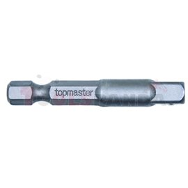 "Адаптор за битове 1/4"" HEXx1/4"" (F) SQ L50мм. | Topmaster Pro"