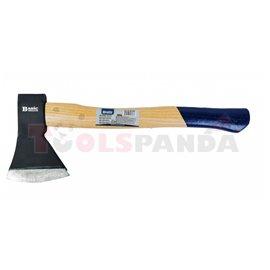 Брадва дървена дръжка 800 гр. 40см.   BASIC SKILLCO