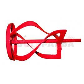 Бъркалка с плоска спирала ø120x600xHEX 10мм. | RAIDER