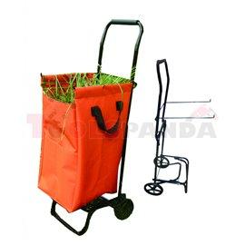 Градински кош - количка 360x400x1000мм. | TopGarden
