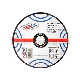 Диск за рязане на метал ø180х2.0х22.2мм. | RAIDER