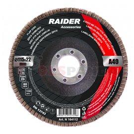Диск ламелен ø115мм. А120 | RAIDER