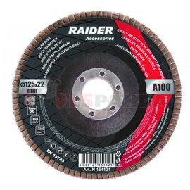Диск ламелен ø125мм. А60 | RAIDER