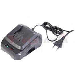 Зарядно 1 час за акумулаторна градински машини Li-ion 18V RD-GTL22 RD-HTL04 RD-CBL04   RAIDER