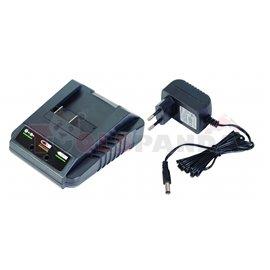 Зарядно 3-5 часа за акумулаторна градински машини Li-ion 18V RD-GTL22 RD-HTL04 RD-CBL04   RAIDER