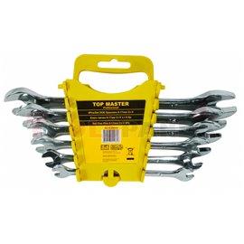 Ключ гаечен 6-17мм. на стойка CR-V. 6 бр. к-т | Topmaster Pro