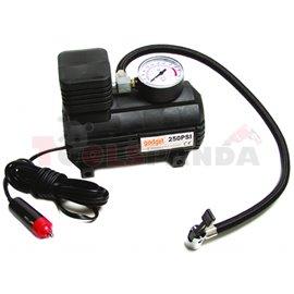 Компресор 12V за помпане на гуми с манометър | Gadget