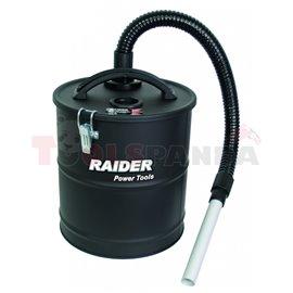 Контейнер 20л. метален с HEPA филтър за прахосмукачка | RAIDER