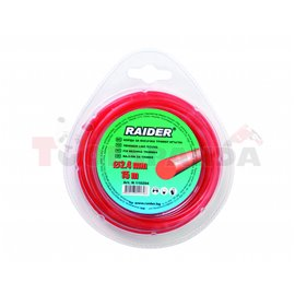 Корда за косачка тример кръгла 2.40мм. х 15м. | RAIDER