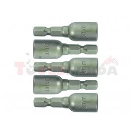 Накрайници за самопробивни винтове 10x42мм. 5 бр. к-т | Gadget
