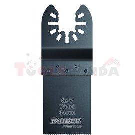 Нож за многофункц. инструменти за дърво 34x40мм. CrV | RAIDER