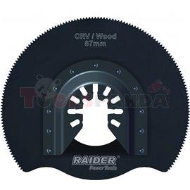 Нож за многофункц. инструменти за дърво ø87мм. CrV | RAIDER