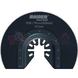 Нож за многофункц. инструменти за метал и дърво ø87мм. BIM | RAIDER