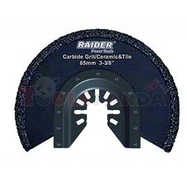 Нож за многофункц. инструменти за фуги ø85мм. Carbide | RAIDER