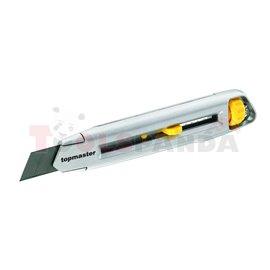 Нож макетен - метален 18mm TMP | Topmaster Pro