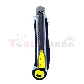 Нож макетен 18х170мм. метален с 5 ножчета | Topmaster Pro