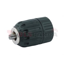 "Патронник за бормашина 3/8"" 10мм. самозаключващ пластмаса RD-KC01 | RAIDER"