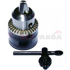 Патронник за бормашина конус ф16мм. 13мм. с ключ RD-KC04 | RAIDER