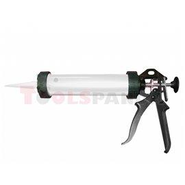 """Пистолет за силикон алуминиев 9""""(225мм.)   TopStrong"""