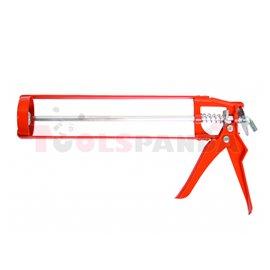 """Пистолет за силикон 9""""(225мм.) лукс   TopStrong"""
