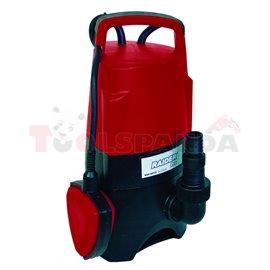 Помпа водна потопяема за мръсна вода 750W 1 max 217 л./мин. 8m RDP-WP25 | RAIDER