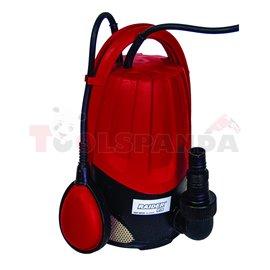 Помпа водна потопяема за мръсна вода 900W 1max 250 л./мин. 9.5м. RDP-WP26 | RAIDER