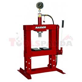 Преса хидравлична 10т. настолна с манометър RD-HP02 | RAIDER