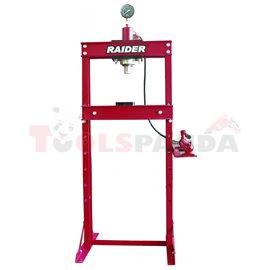 Преса хидравлична 20т. с манометър RD-HP04 | RAIDER