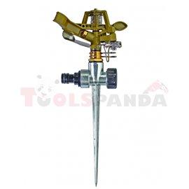Разпръсквач импулсен метален с шиш | TopGarden