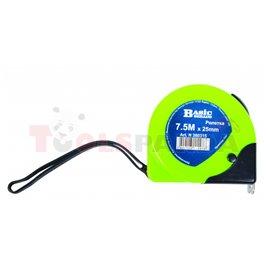 Ролетка пластмасова с двоен стоп 3м. x 16мм. | BASIC SKILLCO