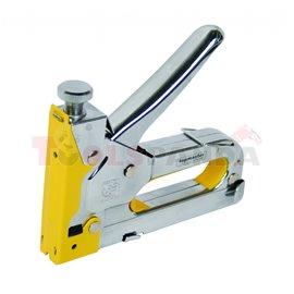 Такер усилен метален 4-14мм. 4 функции | Topmaster Pro