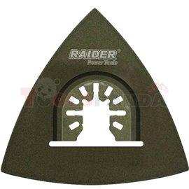 Шлифовъчна плоча за многофункц. инструменти 80мм. Carbide | RAIDER