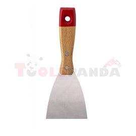 Шпакла с дървена дръжка 60мм. | TopStrong