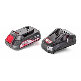 R20 Комплект батерия Li-ion 2Ah и зарядно 1h за серията RDP-R20 System | RAIDER