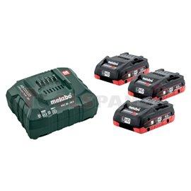 Базов комплект акумулатори 18V ASC 30-36 + 3x4.0 Ah LiHD