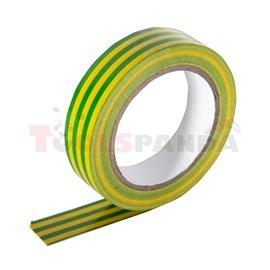 Изолирбанд 18mm х 20m жълто зелен MK | Makalon