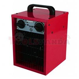 Калорифер електрически 2kW RD-EFH02 | RAIDER
