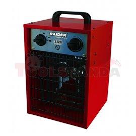 Калорифер електрически 3.3kW RD-EFH3.3 | RAIDER