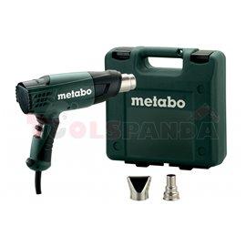 Пистолет за горещ въздух 1600W H 16-500 с дюзи | Metabo