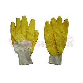 Ръкавици памучни с гума TS-RU 001   TopStrong