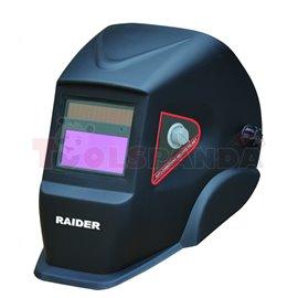 Шлем заваръчен фотосоларен DIN 9-13 RD-WH02 | RAIDER