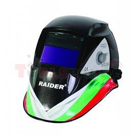 Шлем заваръчен фотосоларен DIN 9-13 дизайн RD-WH03 | RAIDER