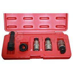 К-т вложки (Ключове) за монтаж и демонтаж капачки за главини 5бр VAG/ Mercedes Benz - ZR-36HNK - ZIMBER-PROFESSIONAL