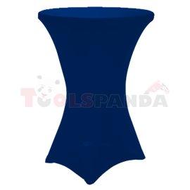 Еластан за бар маса ф80Xh110см. DARK BLUE