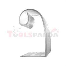 Пластмасова щипка за захващане на драперия 4 броя - к-т