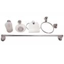 Аксесоари за баня хром к-т 6 бр. | Top Chrome