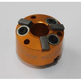 Фреза за леглата на клапани 28-37мм.75° и 45° (резервна част от к-т: ZR-36VRST, ZR-36VRST10). | ZIMBER TOOLS